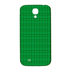 Pattern Green Background Lines Samsung Galaxy S4 I9500/I9505  Hardshell Back Case