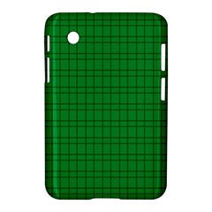 Pattern Green Background Lines Samsung Galaxy Tab 2 (7 ) P3100 Hardshell Case