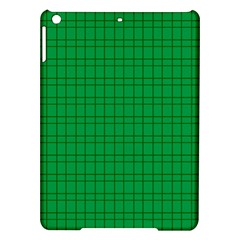 Pattern Green Background Lines iPad Air Hardshell Cases