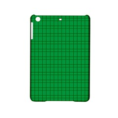 Pattern Green Background Lines iPad Mini 2 Hardshell Cases