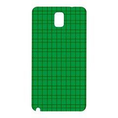 Pattern Green Background Lines Samsung Galaxy Note 3 N9005 Hardshell Back Case