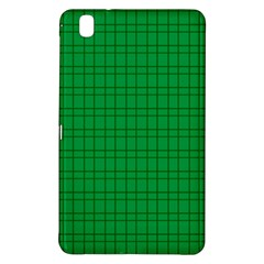 Pattern Green Background Lines Samsung Galaxy Tab Pro 8.4 Hardshell Case