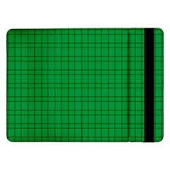 Pattern Green Background Lines Samsung Galaxy Tab Pro 12.2  Flip Case