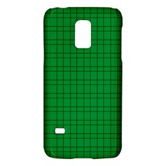 Pattern Green Background Lines Galaxy S5 Mini