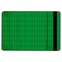Pattern Green Background Lines iPad Air 2 Flip