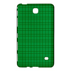 Pattern Green Background Lines Samsung Galaxy Tab 4 (8 ) Hardshell Case