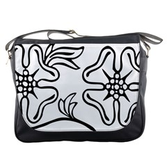 Decoration Pattern Design Flower Messenger Bags