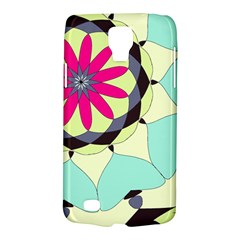 Pink Flower Galaxy S4 Active by digitaldivadesigns