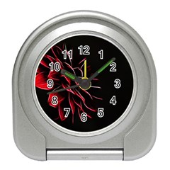 Pattern Design Abstract Background Travel Alarm Clocks