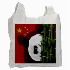 Panda Recycle Bag (two Side)