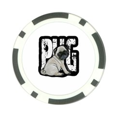 Pug Poker Chip Card Guard (10 Pack)