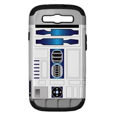 R Two V2 Samsung Galaxy S Iii Hardshell Case (pc+silicone) by bullshitdesign