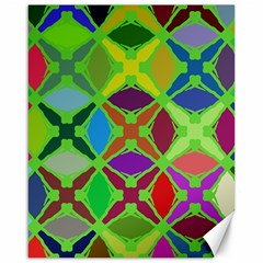 Abstract Pattern Background Design Canvas 16  X 20   by Nexatart