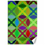 Abstract Pattern Background Design Canvas 24  x 36  36 x24  Canvas - 1