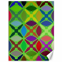 Abstract Pattern Background Design Canvas 36  X 48   by Nexatart