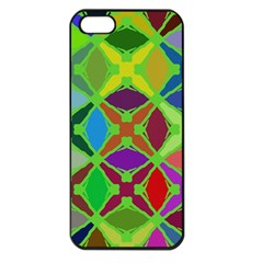 Abstract Pattern Background Design Apple Iphone 5 Seamless Case (black) by Nexatart