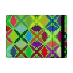 Abstract Pattern Background Design Apple Ipad Mini Flip Case by Nexatart
