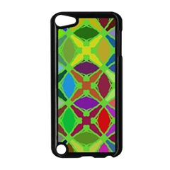 Abstract Pattern Background Design Apple Ipod Touch 5 Case (black) by Nexatart