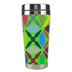 Abstract Pattern Background Design Stainless Steel Travel Tumblers by Nexatart