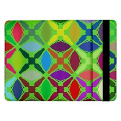 Abstract Pattern Background Design Samsung Galaxy Tab Pro 12 2  Flip Case