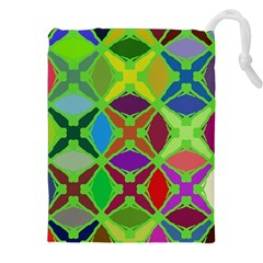 Abstract Pattern Background Design Drawstring Pouches (xxl) by Nexatart