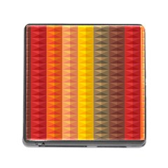 Abstract Pattern Background Memory Card Reader (square)