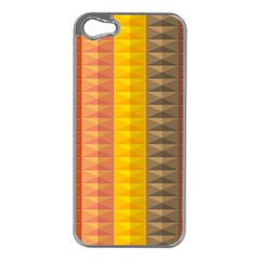 Abstract Pattern Background Apple Iphone 5 Case (silver) by Nexatart