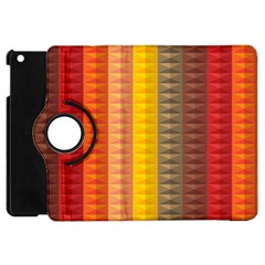 Abstract Pattern Background Apple Ipad Mini Flip 360 Case by Nexatart
