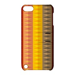 Abstract Pattern Background Apple Ipod Touch 5 Hardshell Case With Stand by Nexatart