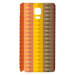 Abstract Pattern Background Galaxy Note 4 Back Case