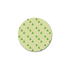 Christmas Wrapping Paper Pattern Golf Ball Marker (10 Pack)
