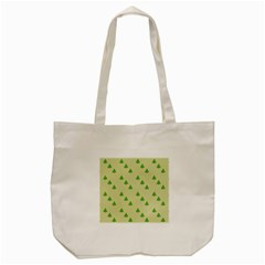 Christmas Wrapping Paper Pattern Tote Bag (cream) by Nexatart