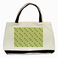 Christmas Wrapping Paper Pattern Basic Tote Bag by Nexatart