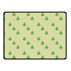 Christmas Wrapping Paper Pattern Fleece Blanket (small)