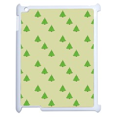 Christmas Wrapping Paper Pattern Apple Ipad 2 Case (white) by Nexatart