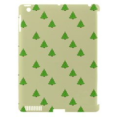 Christmas Wrapping Paper Pattern Apple Ipad 3/4 Hardshell Case (compatible With Smart Cover) by Nexatart