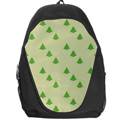 Christmas Wrapping Paper Pattern Backpack Bag by Nexatart