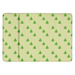 Christmas Wrapping Paper Pattern Samsung Galaxy Tab 8 9  P7300 Flip Case by Nexatart