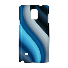 Abstract Pattern Lines Wave Samsung Galaxy Note 4 Hardshell Case by Nexatart