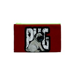 Pug Cosmetic Bag (xs) by Valentinaart