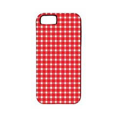 Pattern Diamonds Box Red Apple Iphone 5 Classic Hardshell Case (pc+silicone) by Nexatart