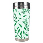 Leaves Foliage Green Wallpaper Stainless Steel Travel Tumblers Right