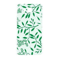 Leaves Foliage Green Wallpaper Samsung Galaxy Alpha Hardshell Back Case by Nexatart