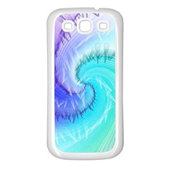Background Colorful Scrapbook Paper Samsung Galaxy S3 Back Case (white) by Nexatart