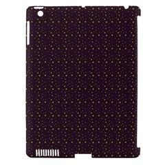 Pattern Background Star Apple Ipad 3/4 Hardshell Case (compatible With Smart Cover) by Nexatart