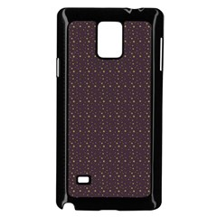 Pattern Background Star Samsung Galaxy Note 4 Case (black)