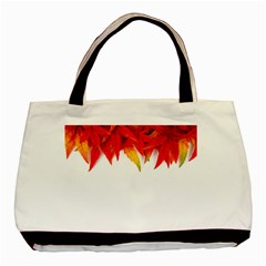 Abstract Autumn Background Bright Basic Tote Bag by Nexatart