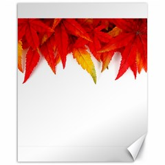 Abstract Autumn Background Bright Canvas 16  X 20