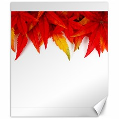 Abstract Autumn Background Bright Canvas 20  X 24   by Nexatart