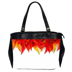 Abstract Autumn Background Bright Office Handbags (2 Sides)  by Nexatart